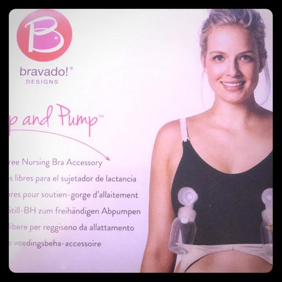 64c188ecc26 Bravado clip and pump hands free nursing bra